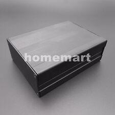 NEW Black Aluminum Project Box Enclosure Electronic Instrument Case 100x76x35mm