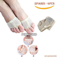 4PCS di Belly Dance Toe SUPPORTO PADS mezza soletta avampiede Cuscino da pedimend ™