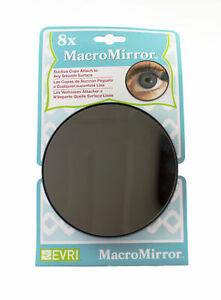 8X Macro Mirror Close Up With Suction Cups shower magnifier Bathroom Make Up