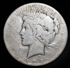 1928 Peace Dollar. Key Date