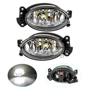 LED Bulb For Mercedes Benz W204 W211 2007-2012 Driving Light Fog Lamp Left+Right