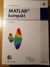 MATLAB kompakt | Wolfgang Schweizer | 2009 | deutsch | Programmieren lernen