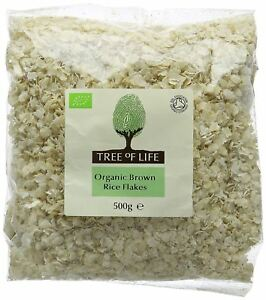 Tree Of Life  Organic Rice - Flakes (Pack of 6)