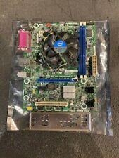 Intel Motherboard DH61BE iSeries, Intel Pentium G645 CPU, & I/O Sheild
