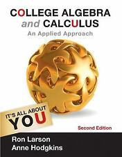 College Algebra and Calculus: An Applied Approach, by Larson, 2nd Edition