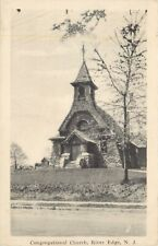 A View Of The Congregational Church, River Edge, New Jersey NJ
