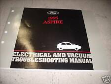 1995 Ford Aspire Electrical & Vacuum Troubleshooting Wiring Service Manual EVTM