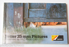 Kodak Phot Lab Promotion Better 35mm Pictures Excerpt Advert Book - VINTAGE B9