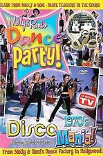 Molly and Roni's Dance Party Volume 1: 1970's Dance Mania (DVD, 2004)* BRAND NEW