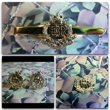 Royal Military Police Lapel / Cuff Links / Tie Bar Gift Set RMP Version 1