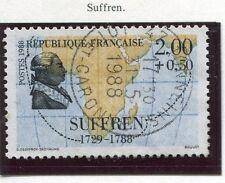 TIMBRE FRANCE OBLITERE N° 2518 SUFFREN / Photo non contractuelle
