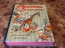 Picture Word Book Child's Learning Book 1947