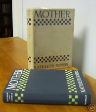 MOTHER by Kathleen Norris, Author's 1st Book in Rare DJ, 1912