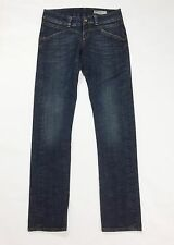 Gas jeans mary kate W30 tg 44 donna blu straight dritti slim usato denim T2168