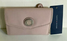 NEW! TOMMY HILFIGER BLUSH PINK MEDIUM FRENCH CLUTCH WALLET $35 SALE