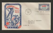 US 1943 overrun countries FDC patriotic cachet - Luxembourg