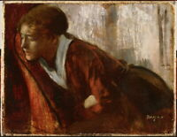 Edgar Degas Melancholy Giclee Canvas Print Paintings Poster Reproduction
