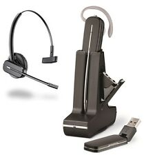 Plantronics Savi W445-M Black Ear-Hook Headsets