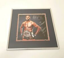 Autographed/Signed JON BONES JONES UFC MMA Fighting Photo
