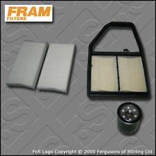SERVICE KIT for HONDA CIVIC (EP1) 1.4 FRAM OIL AIR CABIN FILTERS (2001-2005)