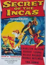 SECRET OF THE INCAS (DVD 1954 Charlton Heston)