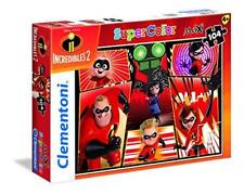 New Clementoni Supercolor Disney The Incredibles 2 104 Piece Maxi Jigsaw Puzzle