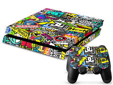 SONY PS4 PlayStation 4 SKIN Design Adesivo Pellicola Protettiva Set - HOONIGAN