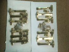 12  Brass Window Catches - Heavy Quality