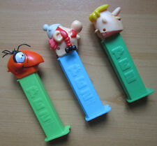 PEZ SPENDER Obelix Barney Geröllheimer Ameise Charlie (Pink Panther) Sammler gut