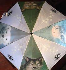 Defenders Of Wildlife Folding Umbrella Auto Fold *