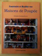BOOK Construire & Meubler vos Maisons de Poupée Build & Furnish Your Doll Houses