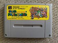 Super Mario World cartridge for Nintendo Super Famicom / SNES (NTSC-J)