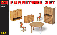 MiniArt 1/35 35548 Furniture Set Building Accessories (WWII Military Diorama)