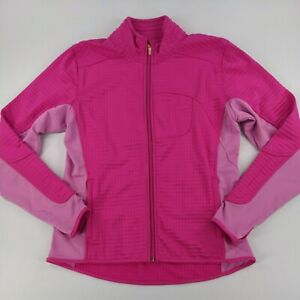 Nike Womens Sphere Thermal Jacket Full Zip Pink Size Large