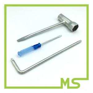 Werkzeugset für Stihl Motorsägen: Kombischlüssel T27  + Vergaserschraubendreher