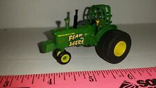 "1/64 ERTL custom ""fear the deere"" John deere 4020 pulling tractor farm toy!"