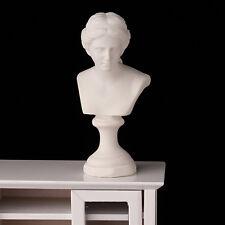 Dollhouse Miniature Resin Statue Venus Bust Sculpture Beauty Home Decor DIY 7cmS