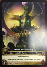 WORLD OF WARCRAFT WOW TCG RARE EXTENDED ART : MAIEV SHADOWSONG