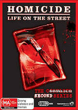 C11 BRAND NEW SEALED Homicide - Life On The Street : Series 2 (DVD, 2009)