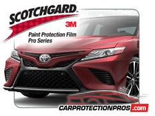 2019 Toyota Camry SE 3M PRO SERIES Front Bumper Paint Protection Kit