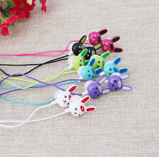 Headset music mp3 Earphone Mixed color cute 3.5mm rabbit in-ear Headphone