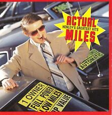 DON HENLEY actual miles (henley's greatest hits) best of (CD album) THE EAGLES