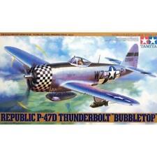 Tamiya 61090 Republic P-47d Thunderbolt Bubbletop 1/48 Scale Kit