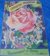 Official 60th Tournament Of Roses Parade Program Vintage 1949 Pasadena Rose Vtg