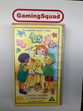 Tots TV A Painting Surprise VHS Video Retro, Supplied by Gaming Squad Ltd
