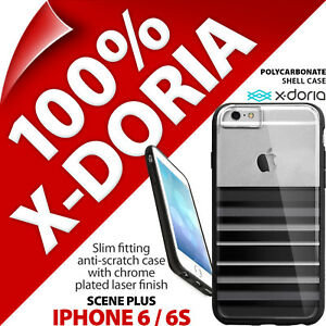 X-Doria 'Scene Plus' Case Hard Slim Protection Cover for Apple iPhone 6 / 6S