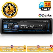 Alpine UTE-200BT Car CD MP3 Bluetooth Android Car Stereo AUX USB Receiver