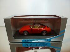 MINICHAMPS  63061 PORSCHE 911 TARGA 1995 - RED 1:43 - EXCELLENT IN BOX