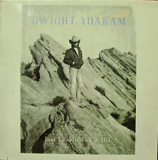 DWIGHT YOAKAM-JUST LOOKIN FOR A HIT LP VINYL 1987 (GERMNAY) EXCELLENT COVER