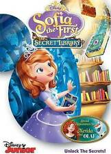Sofia the First: The Secret Library (DVD, 2016)